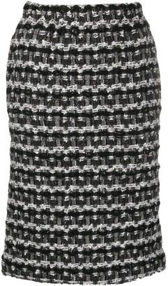 Comme des Garçons Comme des Garçons Tweed Knit Pencil Skirt