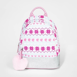 Cat & Jack Toddler Girls' Fair Isle Unicorn Backpack - Cat & JackTM