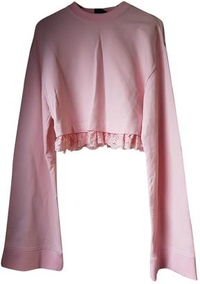 FENTY PUMA by Rihanna Pink Cotton Knitwear for Women