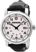 Wenger Urban Class L2 Watch - Leather Strap (For Men)