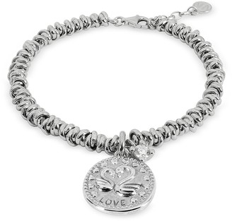 Nomination Sterling Silver Love Charm Bracelet