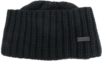 Saint Laurent Rib-Knit Cashmere Beanie