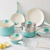 west elm Greenpan® Nonstick 10-Piece Cookware Set - Aqua