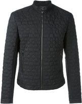 Versace star embossed jacket