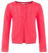 Billieblush Fluorescent Pink Knitted Cardigan