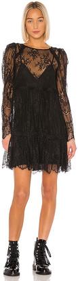 GRLFRND Reese Lace Mini Dress