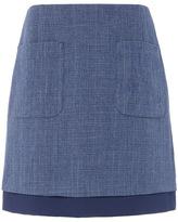 Tu clothing Navy Pocket A Line Skirt