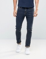 New Look Skinny Jeans With Brown Tint