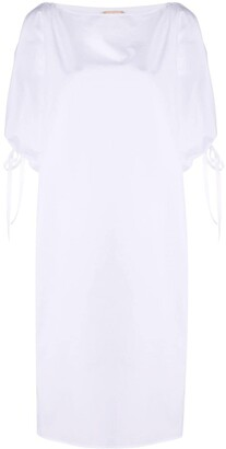 No.21 Drawstring Details Shift Dress