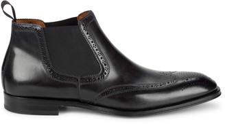 Bruno Magli Lamberto Leather Ankle Boots