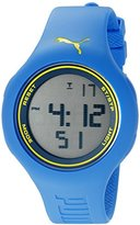 Puma Unisex PU910801041 Loop L light blue yellow Digital Display Watch