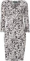 Lauren Ralph Lauren Printed wrap dress
