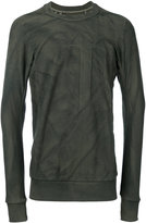 11 By Boris Bidjan Saberi block cut pullover - men - Cotton - S