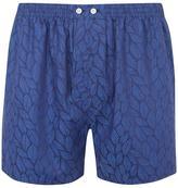 Derek Rose Paris Leaf Classic Cotton Boxer Shorts