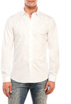 Just Cavalli Embossed Animal Spot Shirt