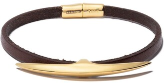 Shaun Leane Arc wrap leather bracelet