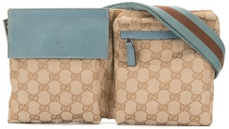 Gucci Pre Owned GG Pattern Waist Bum Bag