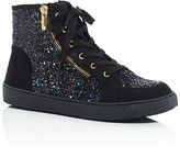 Sam Edelman Girls' Britt Roxy Glitter High Top Sneakers - Little Kid, Big Kid