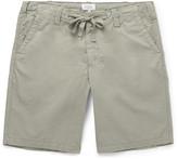Hartford - Slim-fit Drawstring Cotton Shorts