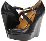 Nine West All Mine (Black Leather) - Footwear
