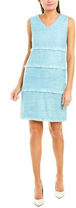 Sara Campbell Silk Shift Dress