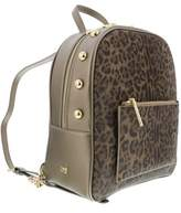 Roberto Cavalli Leoglam 007 Brown/bronze Backpack.
