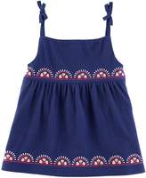 Carter's Toddler Girl Embroidered Tank Top
