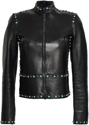 Valentino Studded Leather Jacket