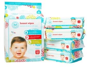 The Honest Company Cloth Baby Wipes