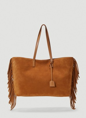 Saint Laurent Fringed Tote Bag