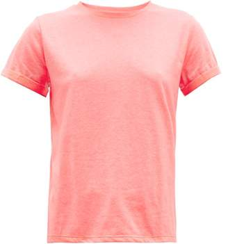 A.P.C. Cyd Cotton Jersey T Shirt - Womens - Pink