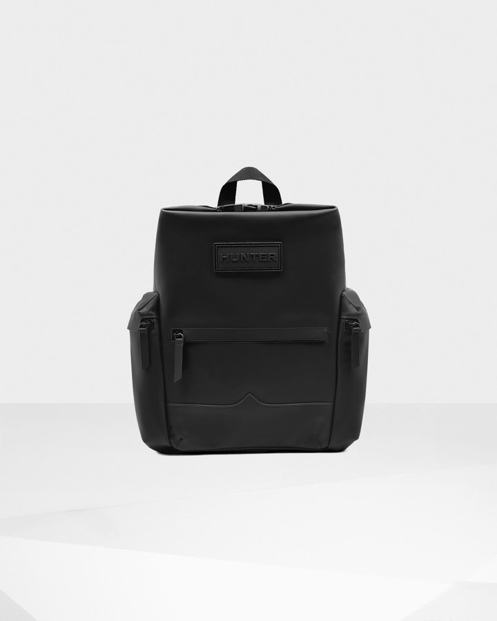 Hunter Original Top Clip Backpack - Rubberised Leather