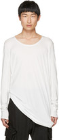 Julius White Cut & Sewn T-Shirt