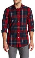 Dockers Slim Fit Tristan Long Sleeve Plaid Shirt