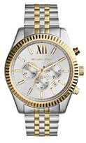 Michael Kors Two-Tone Lexington Chronograph Watch