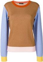 Stine Goya colour block jumper