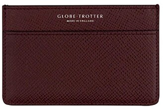 Globe-trotter Globe Trotter Jet name card holder Burgundy