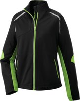 Ash City North End Dynamo Lightweight Bonded Performance Hybrid Jacket XL BLK/ACID GRN