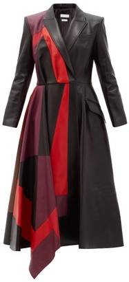 Alexander McQueen Patchwork Leather Coat - Multi