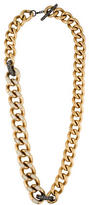 Lanvin Embellished Curb Chain Necklace