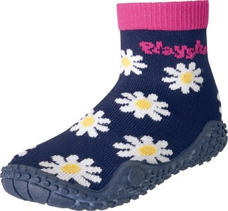 Playshoes Unisex Kid's Aqua Socks with UV Protection Daisies Water Shoes