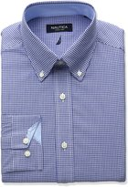Nautica Men's Gingham Dress Shirt