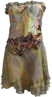 Christian Lacroix Multicolour Silk Dress for Women Vintage
