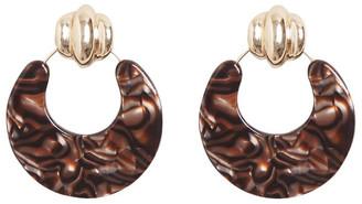 Seed Heritage Door Knocker Resin Earrings
