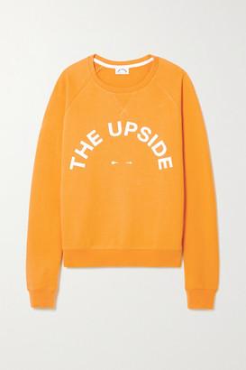 The Upside Bondi Printed Cotton-jersey Sweatshirt - Yellow