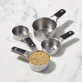 Crate & Barrel Set of 4 OXO Magnetic Measuring Cups