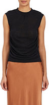 Helmut Lang Women's Silk-Blend Shirred Tank