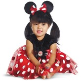 Disguise Minnie Mouse Red Deluxe Costume (Baby Girls)