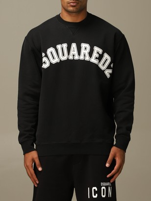 DSQUARED2 Sweatshirt Cotton Sweatshirt With Logo