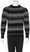 Christian Dior Striped Wool Sweater